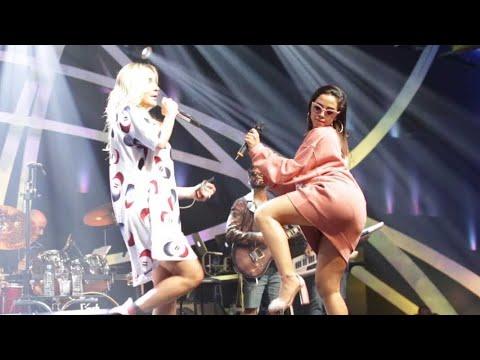 Anitta e Claudia Leitte - Baldim de Gelo - Ensaio Música Boa