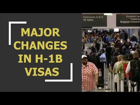 WION Dispatch: Major changes proposed in H-1B visas