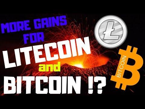MORE GAINS FOR LITECOIN AND BITCOIN!?, litecoin price, bitcoin price, ltc btc news today, 03/09/2019