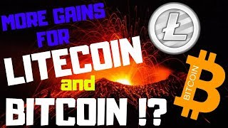 MORE GAINS FOR LITECOIN AND BITCOIN!?, litecoin price, bitcoin price, ltc btc news today, 03/09/2019