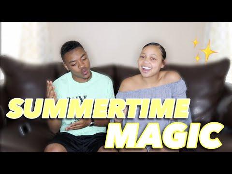 CHILDISH GAMBINO-SUMMERTIME MAGIC (AUDIO) REACTION