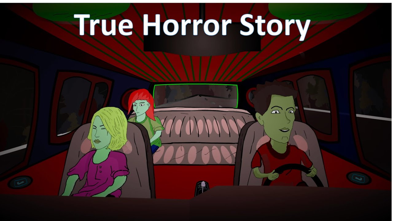 True Horror Story Animated The Dog In The Road Youtube