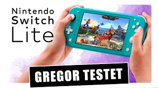 Gregor testet Nintendo Switch Lite im Hardware-Review (Test)