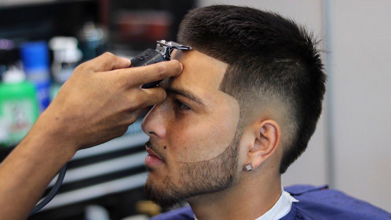 Hair Styles For Boys: HAIRCUT TUTORIAL: BURST FADE ON MARTY OBEY BAYAREA ARTIST