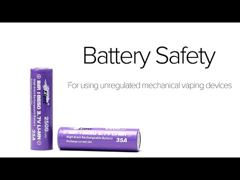 Battery Safety for Mechanical Mods