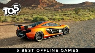 Top 5 Offline Games For Android & iOS 2018