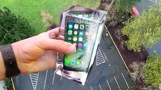 Can Simulated Water Protect iPhone 7 from 100ft Drop Test? - Gizmoslip thumbnail
