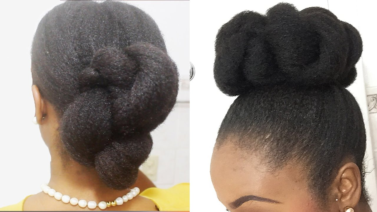 Style Your Natural Hair In 15 Minutes YouTube