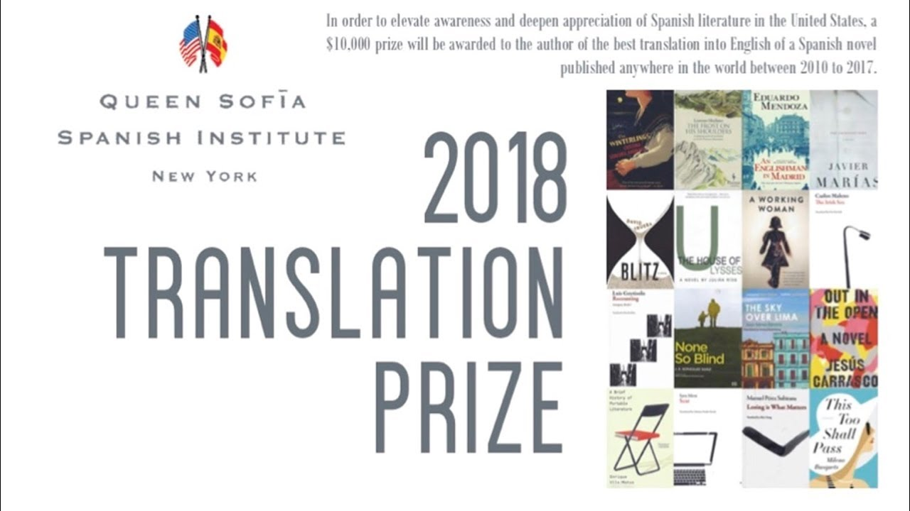 Exhibitions Programming | Translation Prize | 2018 Queen