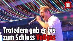 Jens Büchner wusste bei seinen letzten Auftritten, dass etwas nich stimmt