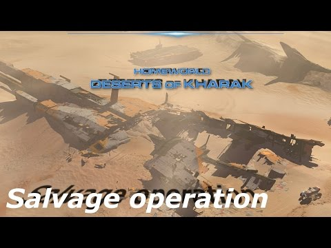 Homeworld deserts of Kharak - 05 - salvage operation