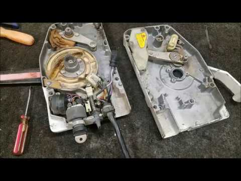 Fixing A Broken Johnson / Evinrude Remote Controller - YouTube