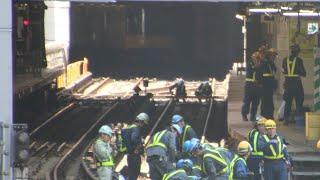 【東京メトロ】銀座線渋谷駅線路付替工事に伴う記録