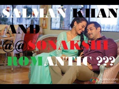 Salman khan romance with sonakshi sinha...