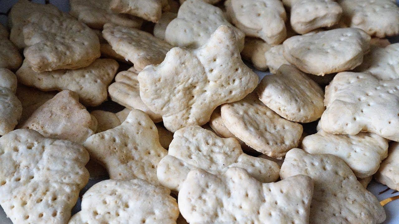 Домашнее гипоаллергенное печенье
