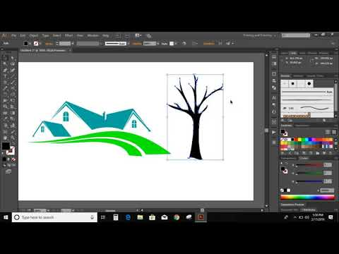 Logo Design Tutorial : How to make a Logo in Adobe Illustrator CC 2019 thumbnail