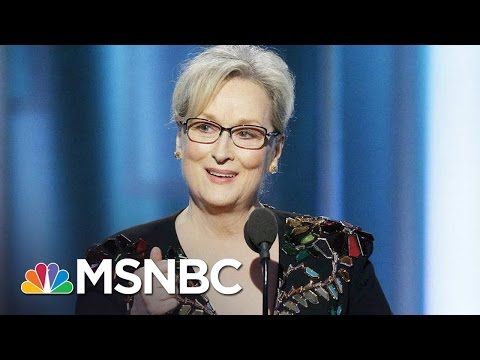 Thumbnail: Donald Trump Goes After Meryl Streep After Golden Globes Speech | MSNBC