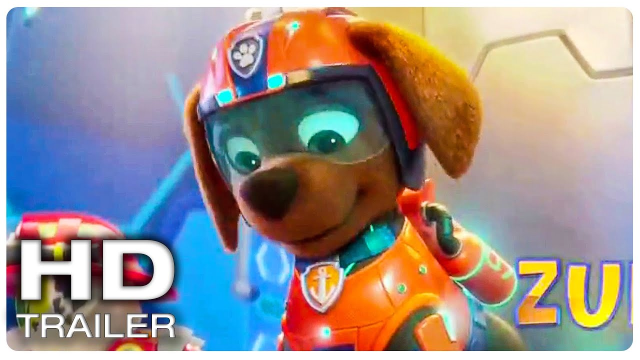 """PAW PATROL The Movie """"Paw Patrol Saves People From Drowning"""" Trailer (NEW 2021) Animated Movie HD"""