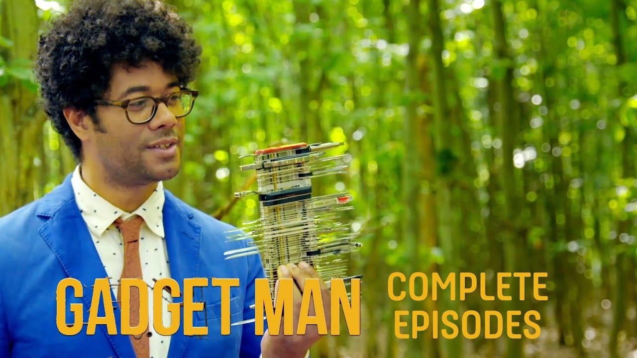 Richard Ayoade's Gadget Man - The FULL Episodes | Gadget Man S2 Episode 1