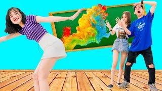 Những Trò Đùa DIY Vui Nhộn | Trò Chơi Khăm Bạn Bè Và Thầy Cô Trong Lớp Học | Zin and Bin