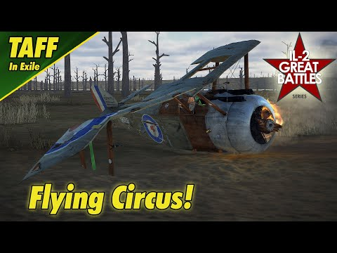 IL-2 Flying Circus    Spring Campaign    Another Day Another Epic Fail!