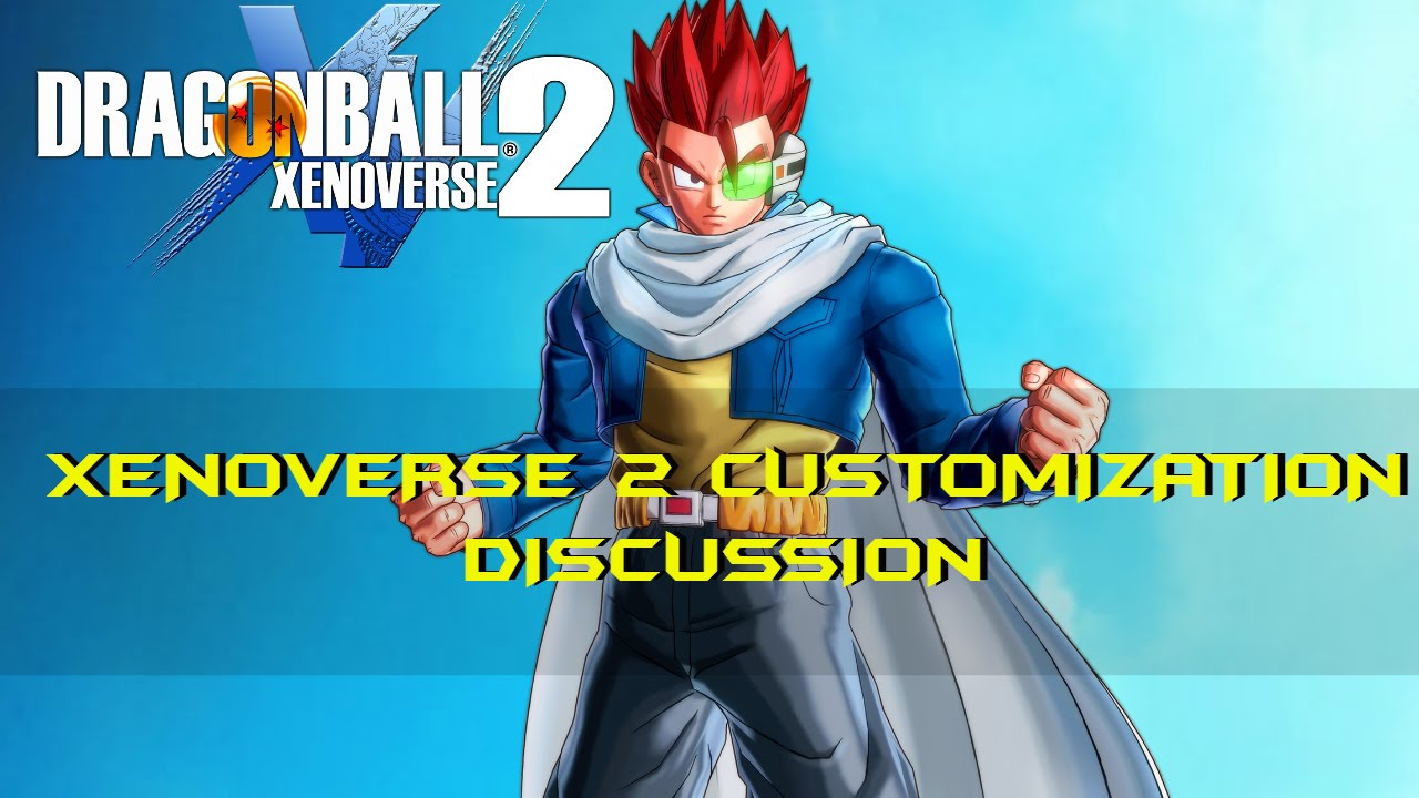 Hairstyles Xenoverse: Dragon Ball Xenoverse 2 Character Customization Discussion
