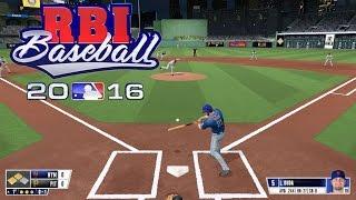 RBI Baseball 16 (PS4) Mets vs Pirates Gameplay (Full 5 inning Game)