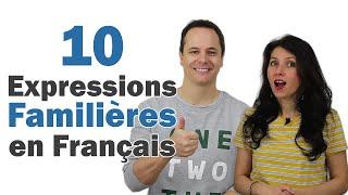 Langage Familier, Argot en Français (1) 👌