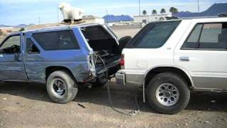 87 Nissan Pathfinder Rear Seat Removal