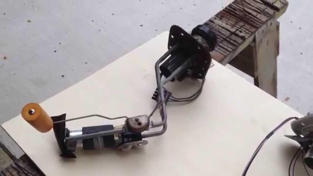 medium resolution of c4 fuel sending unit install