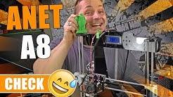 ANET A8 🔬 3D-Drucker für Einsteiger? [German, Deutsch]