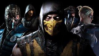 Mortal Kombat X - SCORPION vs SUB-ZERO