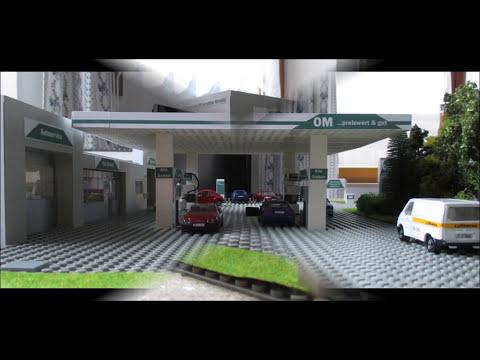 OM Tankstelle, OM service station (Modell 1501)