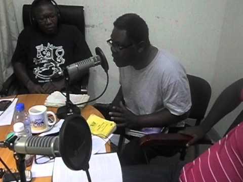 Lawyer David Annan on Radio XYZ 93.1 FM's The Analyst.AVI