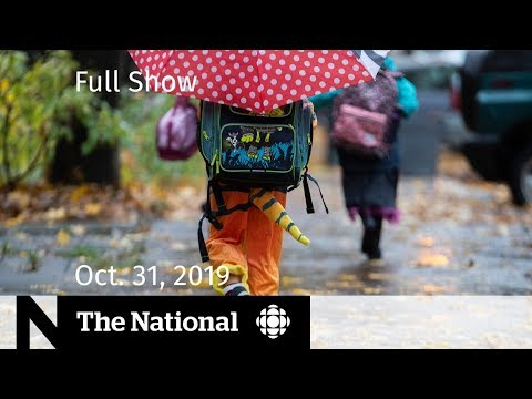 The National for Thursday, Oct. 31  — Halloween confusion; Shooting caught on video