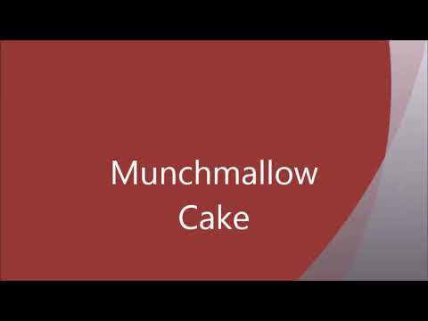 Munchmallow Cake