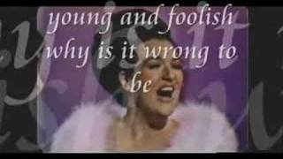"Morgana King sings ""When The World Was Young""...."