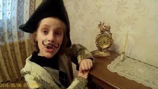 "Буктрейлер к книге ""Приключения барона Мюнхаузена"""