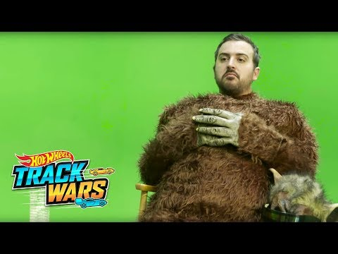 Behind the Scenes: The Monster | Track Wars | Hot Wheels