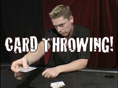 Card throwing how to tutorials youtube reheart Gallery