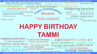 Tammi   Languages Idiomas - Happy Birthday