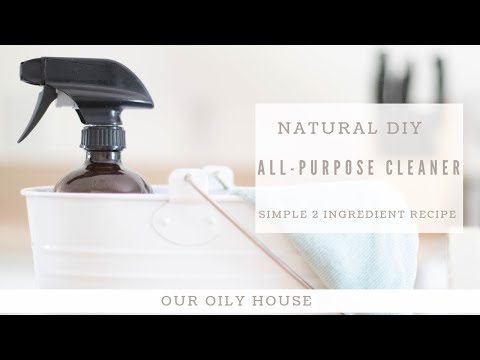 DIY All-Purpose House Cleaner | Natural Cleaning with Essential Oils