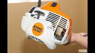 Ремонт стартера на мотокосе STIHL FS 70