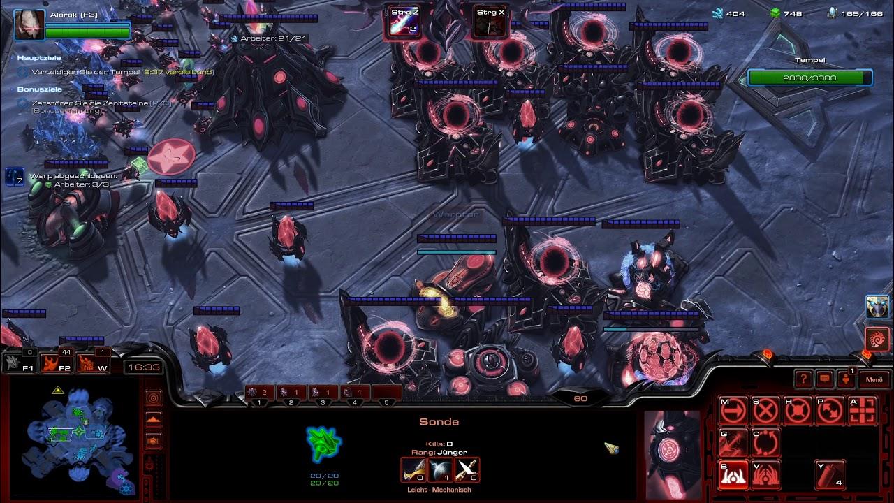 Starcraft 2 - Coop - Brutal - Random - Leveling