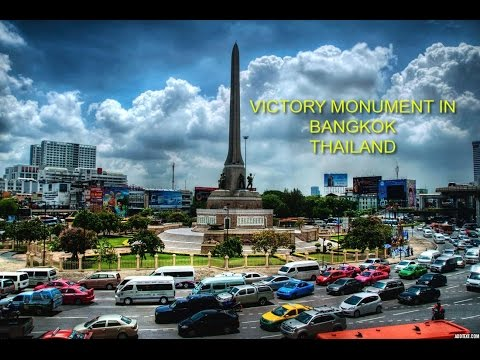 VICTORY MONUMENT IN BANGKOK THAILAND