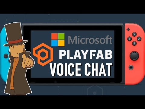 Microsoft Playfab Services Offers Cross-platform Voice Chat On Switch & Professor Layton Switch!