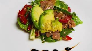 Легкий салат с сёмгой и авокадо | Light salad with salmon and avocado - Вкусный ЮТУБ