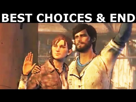 The Walking Dead Episode 5 - The Best Choices & Ending (Season 3 A New Frontier) (No Commentary)