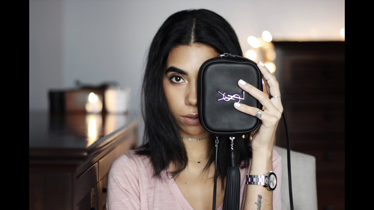 Inside My Ysl Blogger Bag Youtube