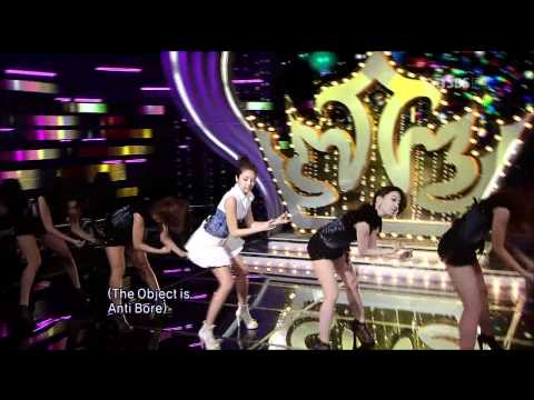 Son Dam Bi - Queen (100822 SBS Inkigayo)